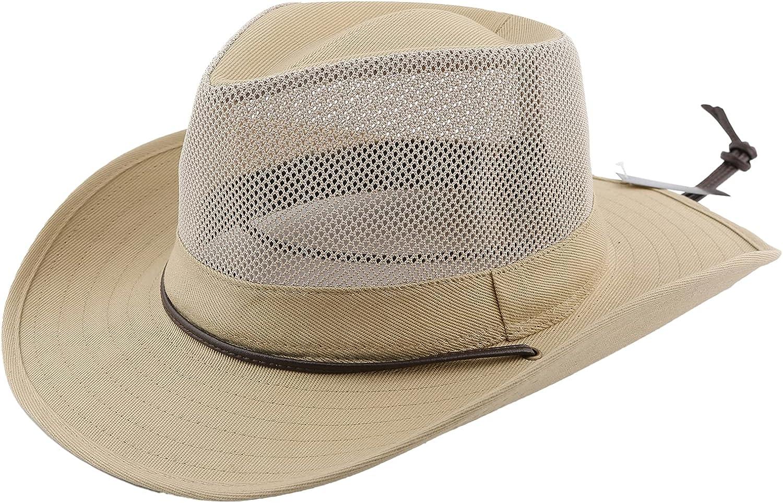 Accessorama Men & Women's Fashion Western Cowboy Hat Cowgirl Hats for Women with Roll Up Brim Felt