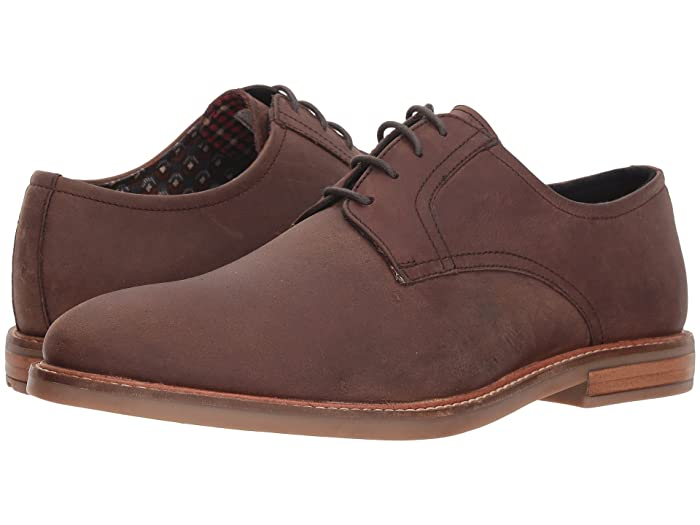 Ben Sherman  Birk Plain Toe (Brown 3) Mens Lace up casual Shoes