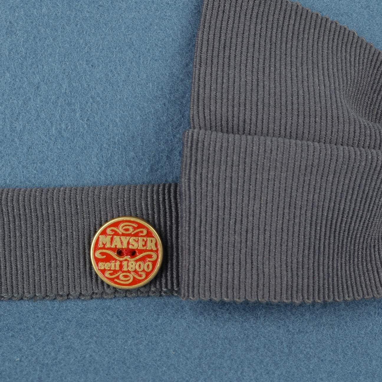 Mayser Jana Soft Wool Damenhut Wollhut Wollfilzhut Glockenhut Mit Ripsband