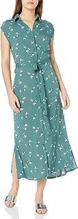 BILLABONG Womens Midi Dress Sleeveless Casual Dress