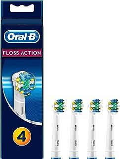 Oral-B 欧乐B 4只装可充电电动牙刷替换刷头 牙线作用 逐个牙齿清洁