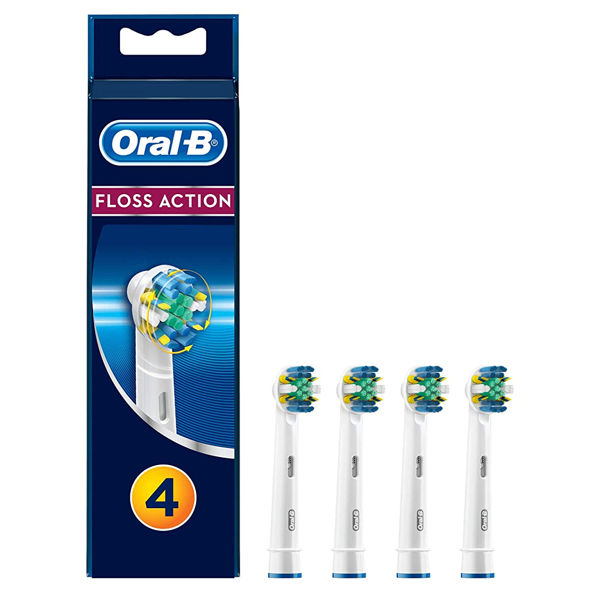 散歩祖先予想するブラウン Oral-B 歯間ワイパー付きブラシ 替ブラシ4本入 EB25-4 並行品扱い