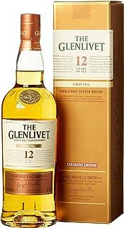 Glenlivet 12 Jahre Single Malt Scotch Whisky mit Geschenkverpackung 1 x 0.7 l