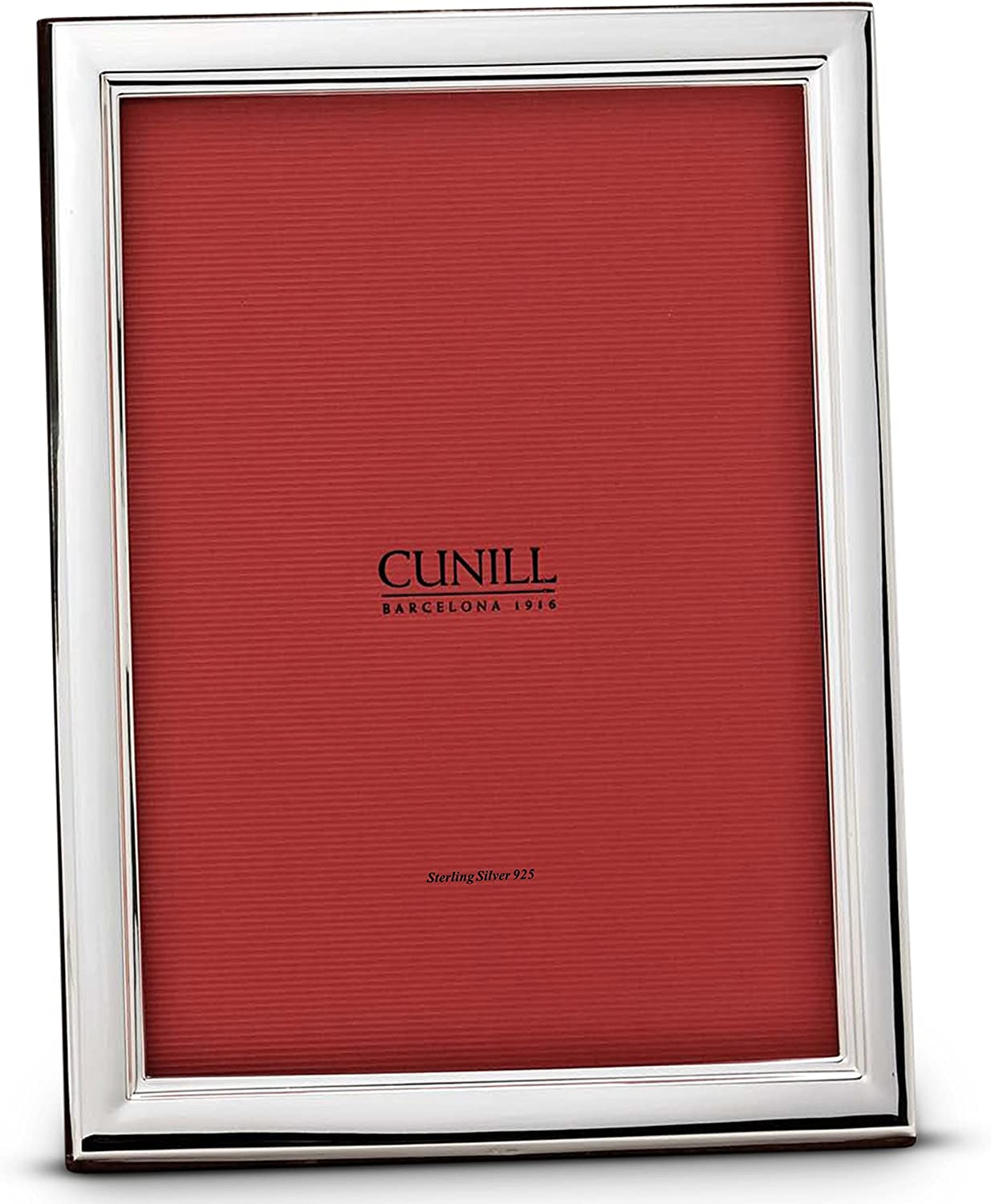 Cunill Danube Sterling Don't miss the campaign Silver Credence Engravable Picture Frame 8x10