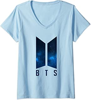 تی شرت یقه دار زنانه BTS Kpop Bangtan Boys Merchandise BTS06