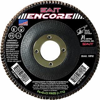 United Abrasives-SAIT 71208 Type 27 Encore Flap Disc, 4-1/2-