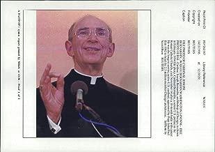 Vintage photo of Varius: Cardinal Joseph Bernardin.