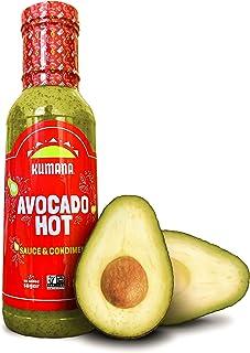 Kumana Avocado Hot Sauce. A Keto Friendly Hot Sauce made with Ripe Avocados, Mango and Habanero Peppers. Ke...