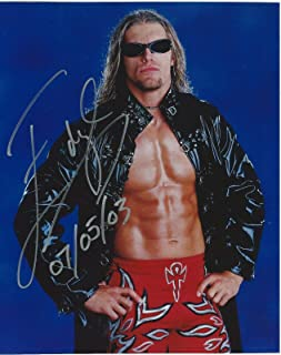 signed wrestling photos