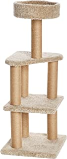 AmazonBasics Cat Activity Tree with Scratching Posts (Renewed)