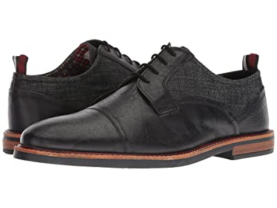 Ben Sherman Birk Cap Toe (Black/Black) Men