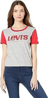 Levi's Women's Ringer Graphic Surf Tee Shirt