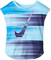 Nike Kids - Speed Blur Swoosh Modern Tee (Toddler)