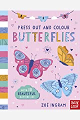 Press Out and Colour: Butterflies Board book