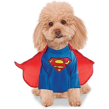 DC Comics Superman Shirt and Cape Pet Costume