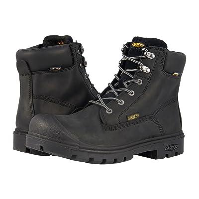 Keen Utility Baltimore 6 WP Steel Toe (Black) Men