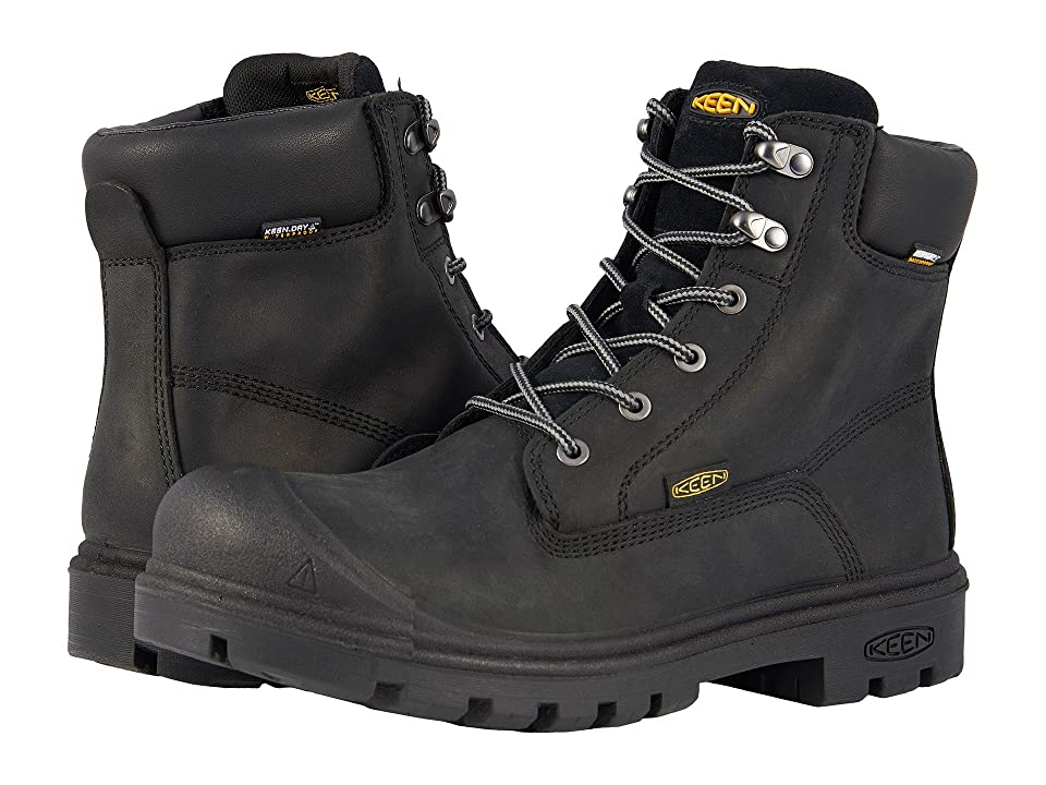 Keen Utility Baltimore 6 WP Steel Toe (Black) Men