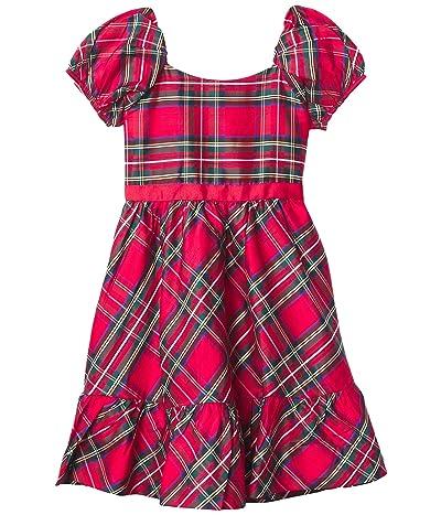 Janie and Jack Plaid Jumper Dress (Toddler/Little Kids/Big Kids) (Multi) Girl