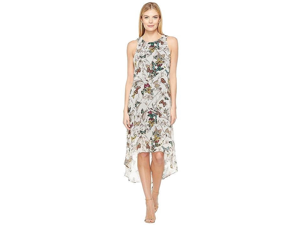 Karen Kane Butterfly Hi-Lo Hem Dress (Print) Women