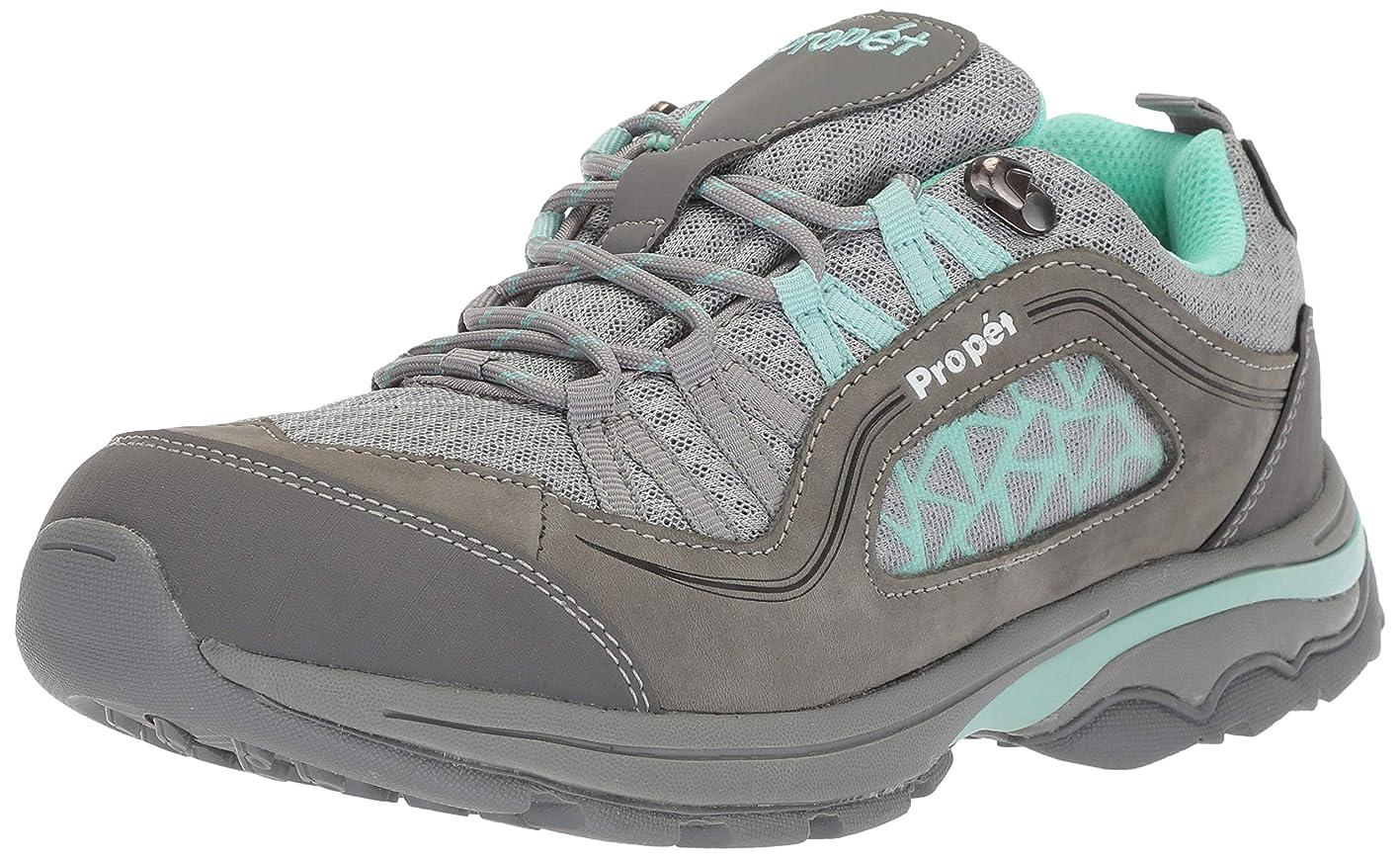 失敗フィードバックボーナス[Propet] Women's Piccolo Grey/Mint Ankle-High Leather Hiking Shoe - 12W