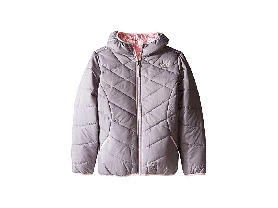 The North Face Kids Reversible Perrito Jacket (Little Kids/Big Kids) (Metallic Silver (Prior Season)) Girl