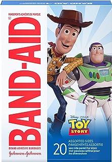 Band-Aid Brand Adhesive Bandages, Disney/Pixar Toy Story 4, Assorted Sizes, 20 ct