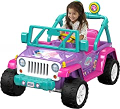 Power Wheels Nickelodeon Shimmer & Shine Jeep Wrangler