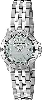 Women's 5399-ST-00995 Tango Steel Mother-Of-Pearl Diamond Crystal Dial Watch