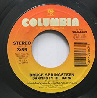 Bruce Springsteen 45 RPM Dancing In The Dark / Pink Cadillac