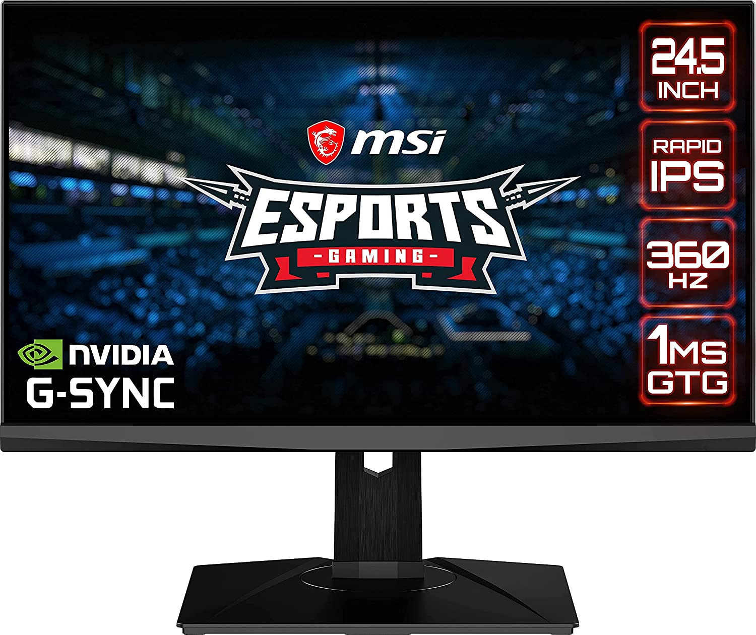 MSI Full HD Free Shipping New 1920 Opening large release sale x 1080 USB Hub DisplayPort Built-in 360Hz 0.5ms