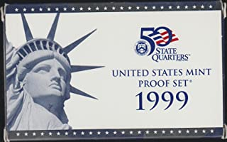 1999 S US Mint Proof Set Original Government Packaging