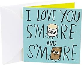 Hallmark Studio Ink Anniversary Card (S'more Love)