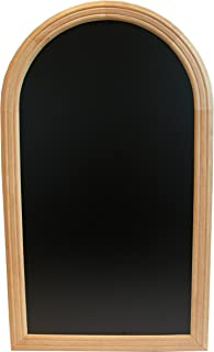 Securit Lacquered Rondo Chalk Board, Hard Wood, Beech, 35 x 50 cm