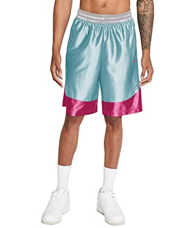 Nike Dry Durasheen Shorts (Glacier Blue/Fireberry/White) Men