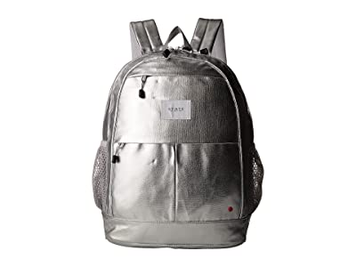 STATE Bags Metallic Leny Backpack (Silver) Backpack Bags