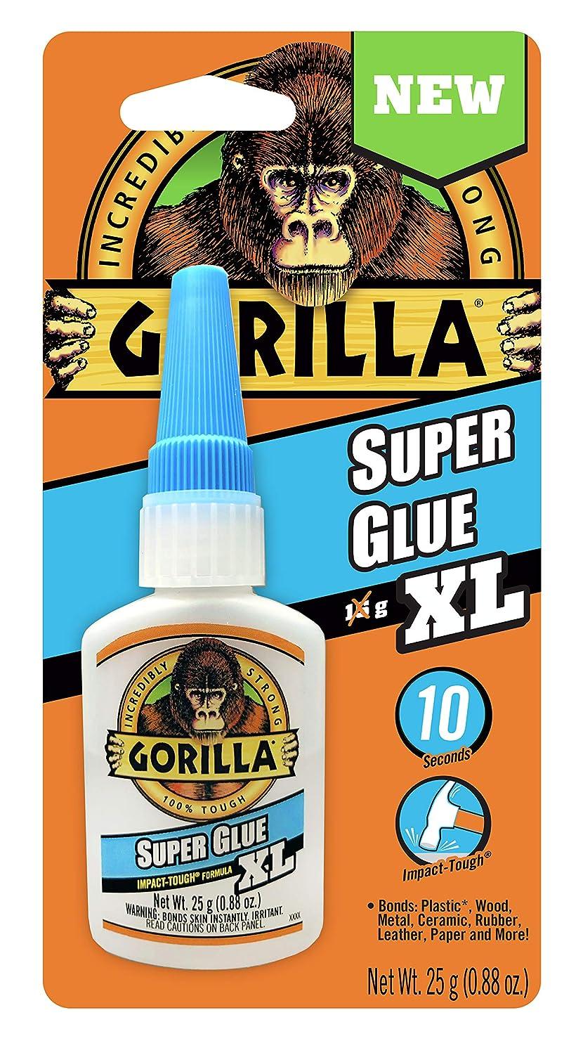 Gorilla 7400202 XL Super Glue 1 Pack Clear