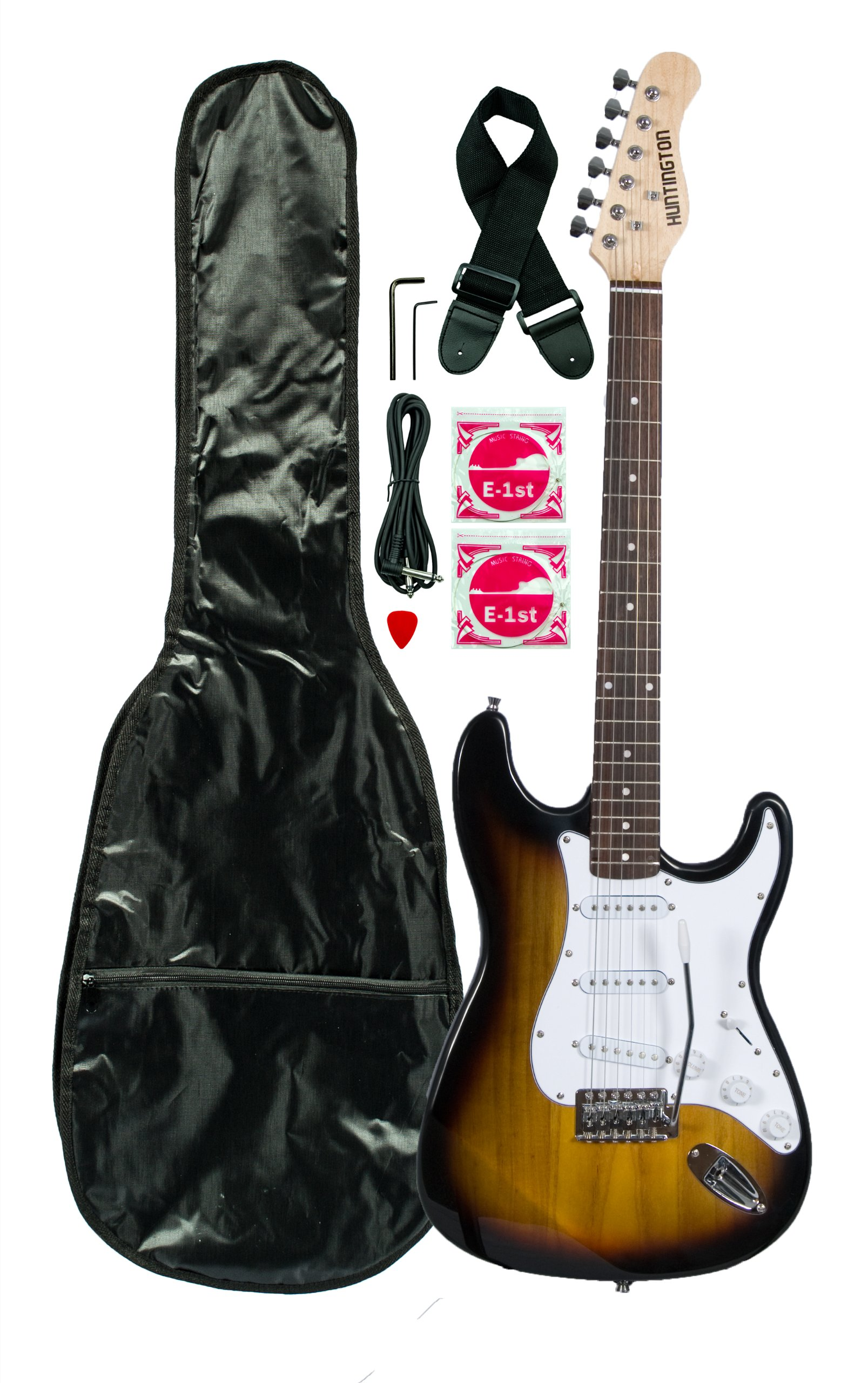 Cheap Huntington GE139-TS Electric Guitar Pack Tobacco Sunburst Black Friday & Cyber Monday 2019