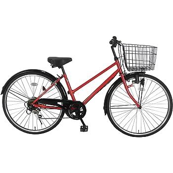 Lupinusルピナス 自転車 26インチ LP-266TD シティサイクル 外装6段ギア ブラックリム装備 100%完成車