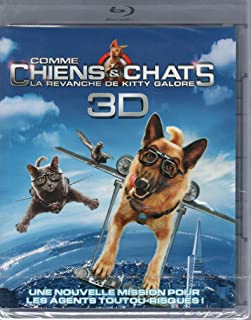COMME CHIENS ET CHATS 2 - LA REVANCHE DE KITTY GALORE [BLU-RAY 3D ACTIVE]