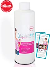 Best Organic Sunless Airbrush Spray Tan Solution - Bronzed, Sun-kissed Customized Natural Color - Voted #1 in U.S.A. - 8oz