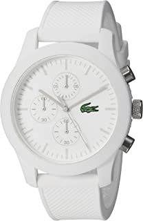 Lacoste Men's 2010823 12.12 Analog Display Quartz White Watch