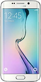 Samsung Galaxy S6 Edge G925A 32GB Unlocked GSM 4G LTE Pearl White Octa-Core Android Smartphone