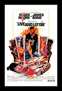 Wallspace James Bond Live and Let Die - 11x17 Framed Movie Poster