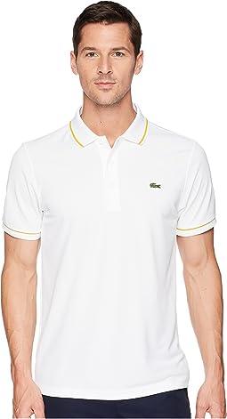 Lacoste Piped Technical Piqué Tennis Polo