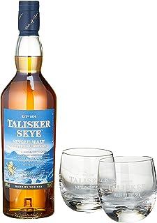 Talisker Skye mit 2 Gläsern Single Malt Whisky 1 x 0.7 l