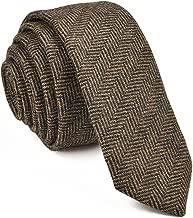 tweed wool tie