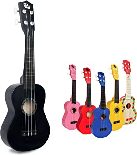 "CB SKY 21"" (53cm) Soprano Ukulele Black/Kids Musical Instrument Beginner/Kids musical toys"