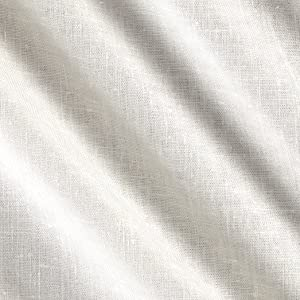 TELIO Avellino Stretch Linen Ivory Fabric by The Yard