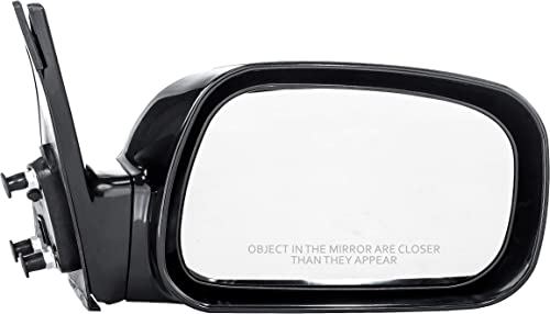 04 05 06 07 08 09 Dodge Durango Mirror Passenger NEW Power Black Textured