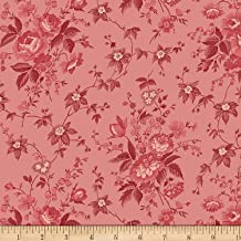 Windham Fabrics Sussex Blossoms Rose Fabric by The Yard